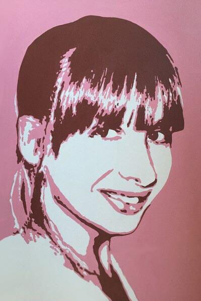 Поп арт портрет Ольги