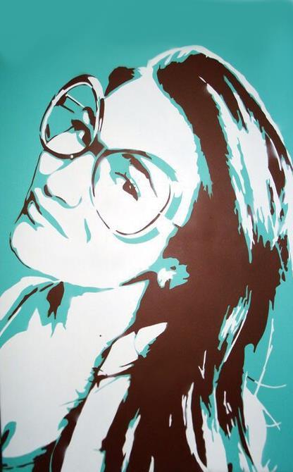 Поп арт портрет Юлии