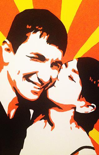 Портрет Елены и Руслана
