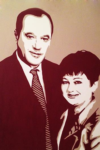 Портрет Кирилла и Юлии