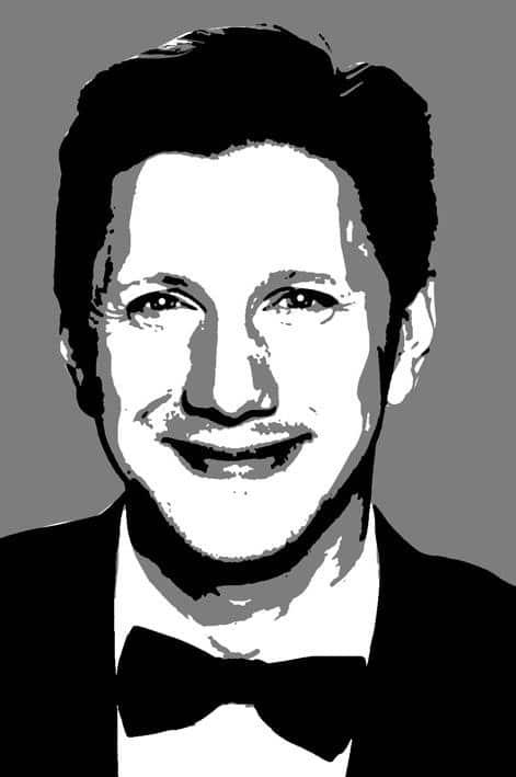 Поп арт портрет Олега