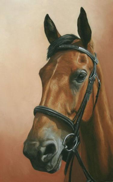 Портрет коня Дантеса