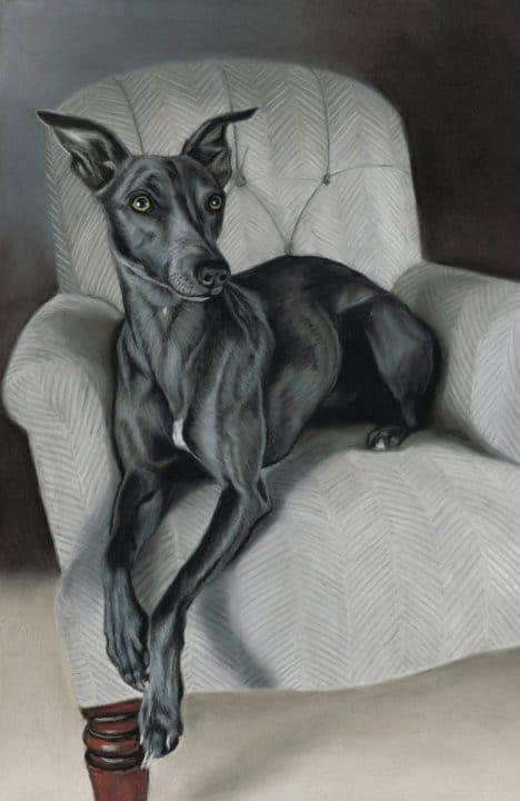 Портрет собаки Джека