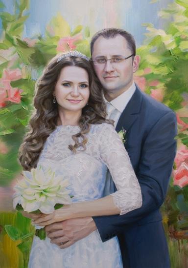 Портрет Юрия и Екатерины