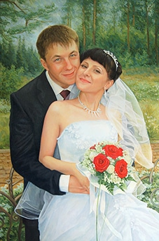 Портрет Максима и Марии