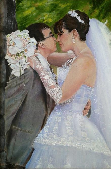 Портрет Леонида и Виктории