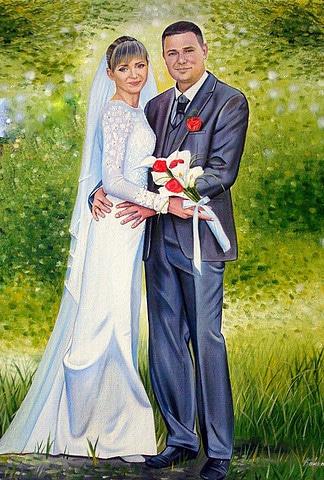 Портрет Дмитрия и Юлии