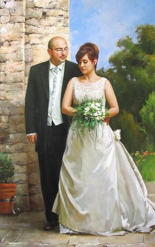 Портрет Игоря и Анны