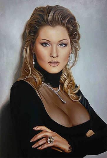 Портрет Александры