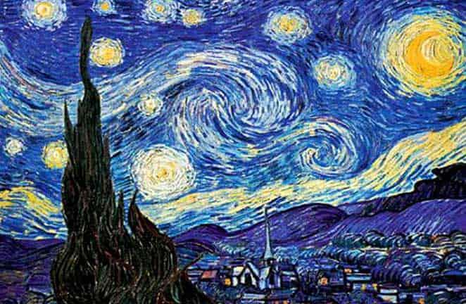 Копия звездная ночь